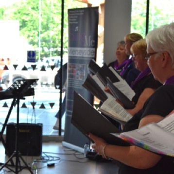 Performance at Arrowe Park Hospital for International Nurses Day